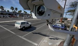 Photo Radar at street intersection, Liberty Law Scottsdale AZ