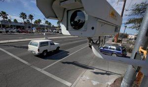 Photo Radar at street intersection, Liberty Law Scottsdale AZ